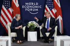 What spat? Trump says he and Theresa May have a 'really great relationship'