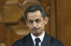 Sarkozy apologises over son's tomato throwing incident