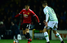 Sanchez impresses on debut as Man United put four goals past Yeovil Town in the FA Cup