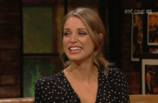 Amy Huberman still gets scarlet about her husband Brian seeing her kiss other fellas on TV
