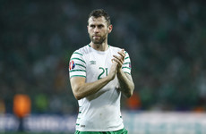 Daryl Murphy announces his retirement from international football