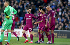 Man City remain on course for the quadruple but concern for Sane