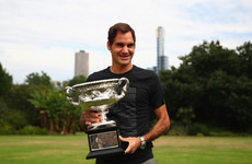 Margaret catch her? Federer doesn't expect to equal Court's record tally