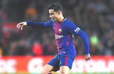 Luis Suarez defends subbed Coutinho after first La Liga start