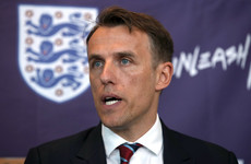 Phil Neville insists 'just battered the wife' tweet referred to a game of table tennis