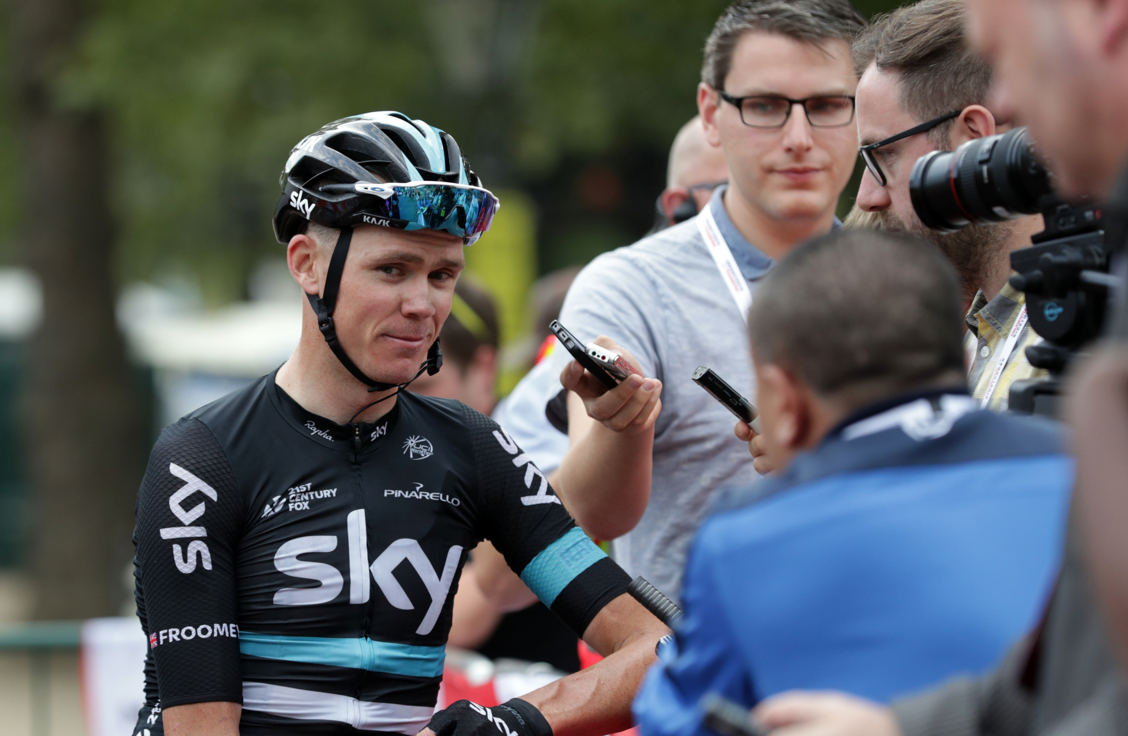 Froome denies suggestion he could accept six-month ban