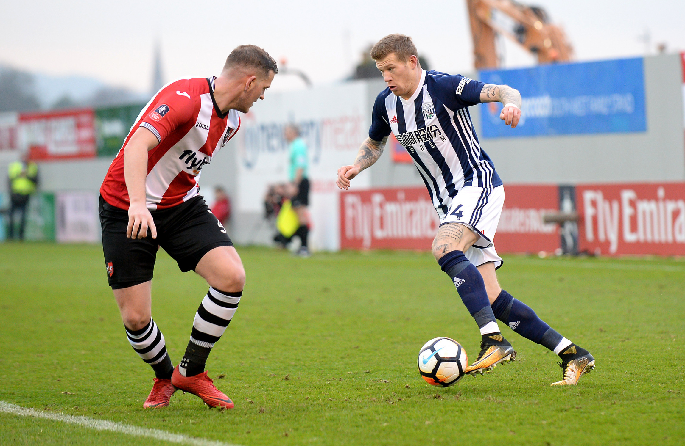 West Brom reject loan offer for James McClean