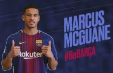 Ex-Ireland U17 midfielder joins Barcelona B from Arsenal
