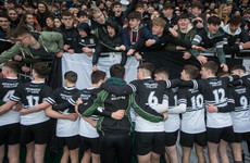 Out-half Maloney a class above as Newbridge power into Leinster quarters