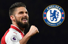 Chelsea sign Olivier Giroud from Arsenal on 18-month deal