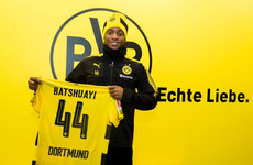 Michy Batshuayi replaces Aubameyang at Dortmund after Giroud joins Chelsea