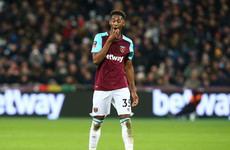 West Ham starlet Oxford returns to Germany just a month after being recalled from loan