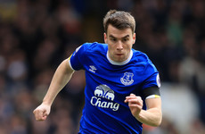 313 days after breaking his leg, Ireland's Seamus Coleman makes Everton return