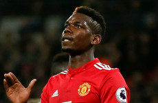 Paul Pogba tasted Premier League defeat for first time in over a year tonight