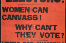 On this day 100 years ago, Irish women got the vote