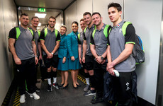 A mixture of 'excitement and nerves' as Ireland arrive in Paris