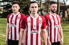 Derry City make switch to Adidas and launch new home kit with Ryan McBride tribute