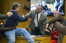 Father of three victims of Larry Nassar lunges at the former doctor in court
