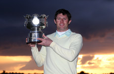 How the 2013 Irish Amateur Open champion wound up as fitness coach with the Laois footballers
