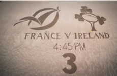 TV3 hit the beach for their first-ever Six Nations montage