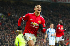Sanchez bags first goal in United colours as Mourinho's side ease past Huddersfield