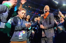 A kid that took a selfie with Justin Timberlake during his Superbowl halftime show is the newest meme
