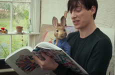 People are really, really excited to see Domhnall Gleeson getting beat up by a CGI rabbit