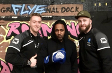Kendrick Lamar stopped into a Dublin Flyefit for a workout ahead of his 3Arena gig