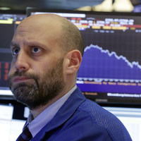 Wall Street just took a huge plunge and traders are trying to stay calm