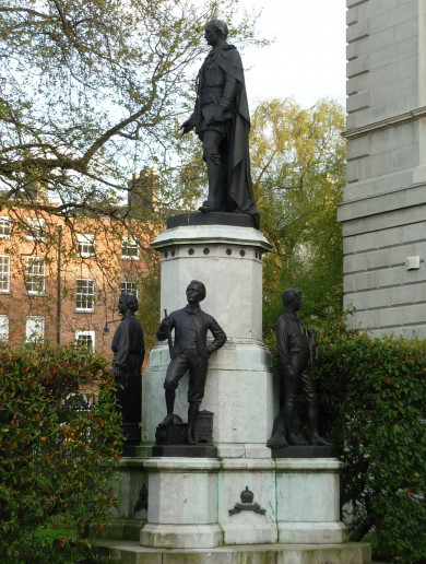 Calls for Prince Albert statue to be removed from grounds of Leinster House