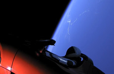 World's most powerful rocket blasts towards Mars - with Elon Musk's roadster onboard