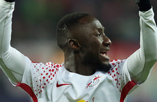 Leipzig boss says Keita's form 'not as consistent' since sealing Liverpool move