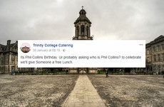 A tribute to the extremely wholesome Trinity College Catering Facebook page