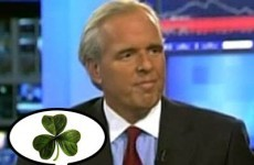 Here's the ex-Goldman Sachs partner with a shamrock tattooed on his bum