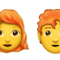 Redheads are busy celebrating the release of their very own emoji, at long last