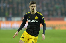 'I was definitely a big fan' – Pulisic admits Man United support