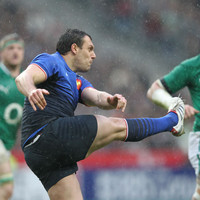 Following a 6-year absence, Lionel Beauxis will start for France against Scotland