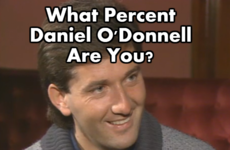 What Percent Daniel O'Donnell Are You?