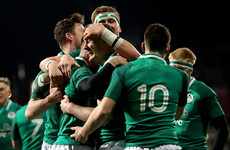 Utterly reckless Italian tip tackle pits Ireland U20s against 14 men