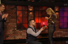 The audience on last night's Late Late Show went wild after Ryan Tubridy helped orchestrate a surprise proposal