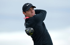 Johnson shares lead as McIlroy five-putts after two rounds at Pebble Beach