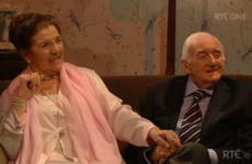 Viewers loved the elderly couples discussing romance on the Valentine's Day special of the Late Late Show