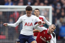 As it happened: Tottenham vs Arsenal, Premier League