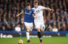 Seamus Coleman suffers muscle injury in Everton's win over Palace