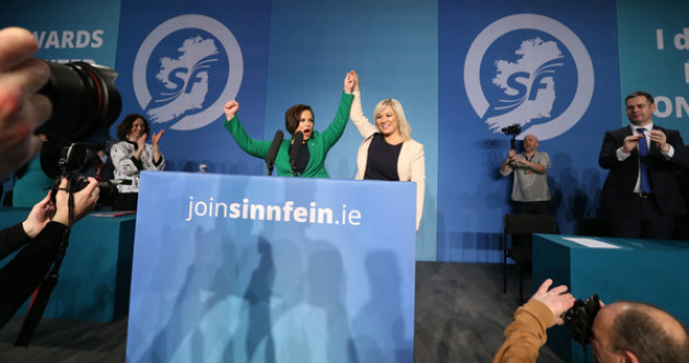 'Sisters are doin' it for themselves': Disco music heralds Sinn Féin into a new dawn