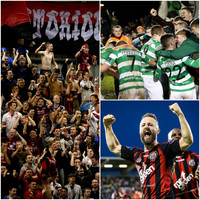 Pigs' heads, pitch invaders and a century of hatred - the Dublin Derby takes centre stage again tonight