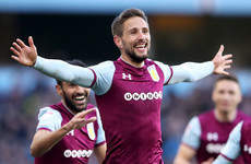 Ireland's Conor Hourihane scores a screamer as Villa edge closer to promotion