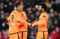 Firmino and Salah on target as Liverpool heap more misery on Southampton