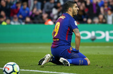 Suarez goal disallowed as frustrated Barcelona drop points for second week running