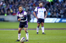 Off the mark! Nerveless Laidlaw kicks Scotland to fightback win over France